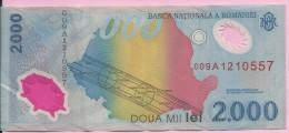 Banknotes - 2000 Lei, 1999., Romania - Rumania
