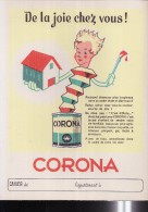 PC140 - PROTEGE CAHIER - PEINTURE CORONA - Protège-cahiers