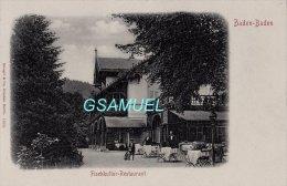Allemagne - Baden Baden Fischkultur Restaurant. - (voir Scan). - Baden-Baden