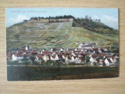 AK Um  1916, ASPERG MIT HOHENASPERG - Allemagne