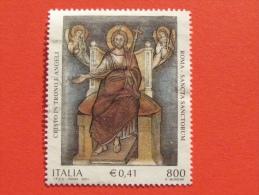 ITALIA USATI 2001 - SANCTA SANCTORUM - SASSONE 2575 - RIF. G 2237 LUSSO - 6. 1946-.. Repubblica
