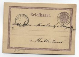 Netherlands OLD POSTAL CARD - Periode 1891-1948 (Wilhelmina)