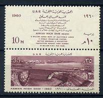 Egypte ** N° 472/473 - Début De La Construction Du Barrage D'Assouan - Egypt