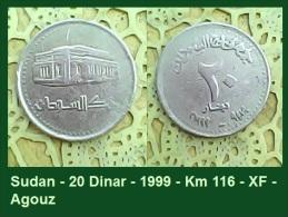 Sudan - 20 Dinar - 1999 - Km 116 - XF - Agouz - Sudan