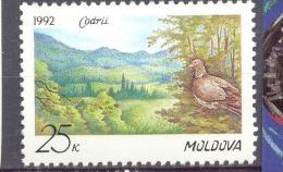 1992. Moldova, Bird, Nature Reserve, 1v, Mint/** - Moldavia