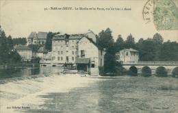 10 BAR SUR SEINE / Le Moulin Et Les Ponts / - Bar-sur-Seine