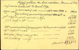 Rekening Prijzij Marie Roelandts Ursel Dorp - Documentos Antiguos