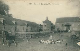10 LANDREVILLE / Basse Cour D'une Ferme / - France