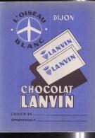 PC200 - PROTEGE CAHIER - CHOCOLAT LANVIN - DIJON - Book Covers
