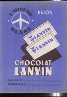 PC201 - PROTEGE CAHIER - CHOCOLAT LANVIN - DIJON - Book Covers