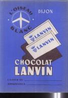 PC202 - PROTEGE CAHIER - CHOCOLAT LANVIN - DIJON - Book Covers