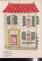 PC203 - PROTEGE CAHIER - GLASSEX - Pour Vitres, Glaces Et émail - Book Covers