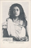 - CPA  - Jeune Mendiante - 004 - Alexandrie