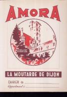 PC216 - PROTEGE CAHIER - AMORA - La Moutarde De Dijon - Book Covers
