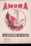 PC218 - PROTEGE CAHIER - AMORA - La Moutarde De Dijon - Book Covers