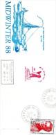 Pli MIDWINTER 1988 De Kerguelen ( 21/6/1988 ) - Covers & Documents