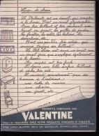 PC223 - PROTEGE CAHIER -  PEINTURE VALENTINE - OCOLORY 2 Bis Place Michelet à TOURS - Book Covers