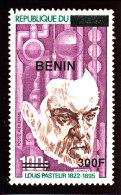 Bénin 2008  (Pasteur 300F/100F ) Superbe - Luxe **  TRES RARE - Benin – Dahomey (1960-...)