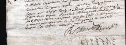 1731, GENERALITE DE RIOM,  Sur PAPIER , 2 Pages, 2 SCANS - Cachets Généralité