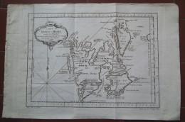 MAPPA CARTA GEOGRAFICA CARTE DU SPITS BERG SPITSBERGEN SVALBARD NORVEGIA ANNO 1758 - Carte Geographique