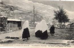 SERBIE FLORINA LE HAUT PAR TEMPS DE NEIGE (1914-1918) - Serbie