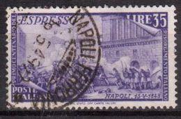 ITALIA  REPUBBLICA  1946 Risorgimento L. 35 Usato  Used - 1946-.. République