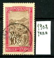 FRANCIA - MADAGASCAR - Year 1908 - Usato -used. - Used Stamps