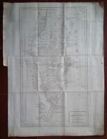 MAPPA CARTA GEOGRAFICA CARTE PENISOLA KAMTCHATKA RUSSIA ANNO 1757 - Carte Geographique