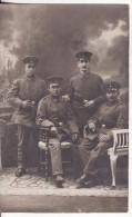 Carte Postale Photo Militaire GREIZ I V. (Allemagne) Soldaten-Krieg-Foto J.Burger Greiz - VOIR 2 SCANS - Greiz