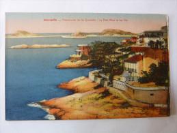 Marseille - Promenade De La Corniche - Le Petit Nice Et Les Iles - Endoume, Roucas, Corniche, Plages