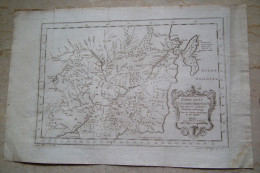 MAPPA CARTA GEOGRAFICA CARTE DE LA TARTARIE ORIENTALE ASIA ANNO 1757 - Carte Geographique
