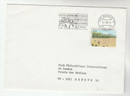 1986 UN Geneve Stamps COVER Illus SLOGAN Pmk VICTIMS OF TORTURE VOLUNTARY FUND United Nations - Geneva - United Nations Office
