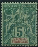 Congo (1892) N 15 * (Charniere)