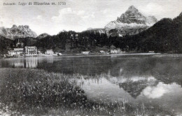 Dolomiti. Lago Di Misurina (1932) - Italia