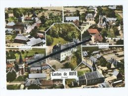 CPM - Canton De Roye -  Liancourt  -  Laucourt  -  Carrepuis   -  Moyencourt  -  Goyencourt - Francia