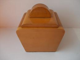- Pot à Tabac Art Deco - - Boites à Tabac Vides
