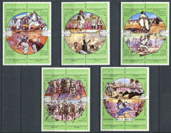 154 LIBYE 1980 - Jeux Hockey Lutte Cavalier (Yvert 815/34) Neuf ** (MNH) Sans Charniere - Libye