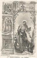 217.COLETA KIELBAEG - CONGREGANISTE O.L.V. PRESENTATIE  -  LEBBEKE  1831/1863 - Imágenes Religiosas
