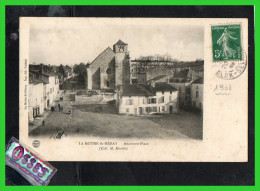 - LA MOTHE - St. HERAY - Ancienne Place (Collection H.Moulin) ( Recto Verso) - La Mothe Saint Heray