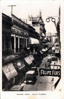 BUENES AIRES Calle Florida, Fotokarte Gel.1928 - Argentinien