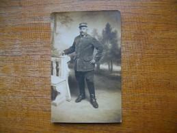 Rare Carte Photo D´un Cavalier Du 7eme Escadrons 1er Pelotons Territoriale De Cavalerie Légère à Châlons-sur-marne ,, - Châlons-sur-Marne