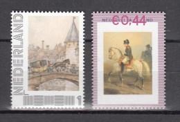 Netherlands Nederland 2007,2V Pair,horses,paarden,pferde,chevaux,caballos,cavalli,MNH/Postfris(A2143) - Horses