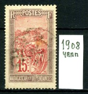 FRANCIA - MADAGASCAR - Year 1908 - Usato -used. - Madagascar (1889-1960)