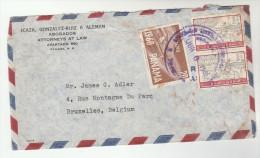 1961 Air Mail PANAMA Stamps COVER To  Belgium - Panama