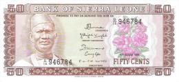 Sierra Leone - Pick 4 - 50 Cents 1984 - Unc - Sierra Leone