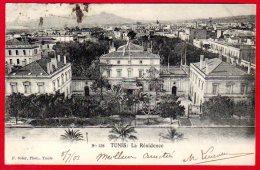 TUNISIE - TUNIS - La Résidence - Tunesië