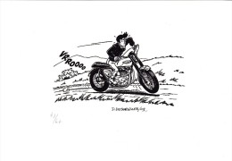 Ex-libris DESORGHER Daniel 2009 N°/s (Jimmy Tousseul) - Illustrators D - F