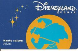 PASS--DISNEY-DISNEYLAND PARIS-1998-HERCULE ADULTE-V° SerieN°98043H-TBE - Pasaportes Disney