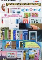 Lot Topic 40 Blocs Korea O 99€ Olympic Flora Bird Fauna Loc Sport Stamp On Stamp Philatelic Expo Bloc Art Sheet Bf Corea - Corée Du Nord