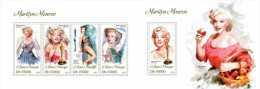 S. Tomè 2013, Cinema, Marilyn Monroe, 4val In BF+BF - Cinema